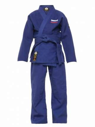 Кимоно для дзюдо Стандарт Firuz цвет  синий размер 140 см