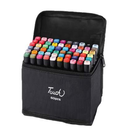 Набор маркеров для скетчинга Color Kit Набор маркеров для скетчинга 60 ов MR-60