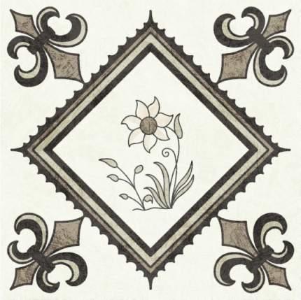 """Наклейка на стену PAINTINGSTOCK Плитка с растительным узором """"Голландия"""" 24 шт.10х10 см"""