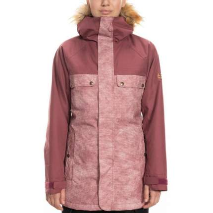Куртка 686 Dream Insulated, crushed berry wash colorblock, XS