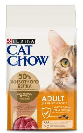 Сухой корм для кошек Cat Chow Adult, утка, 1,5кг