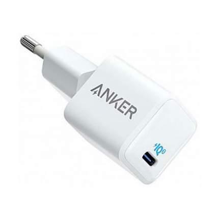 Сетевое зарядное устройство Anker PowerPort 3 20W USB-C White