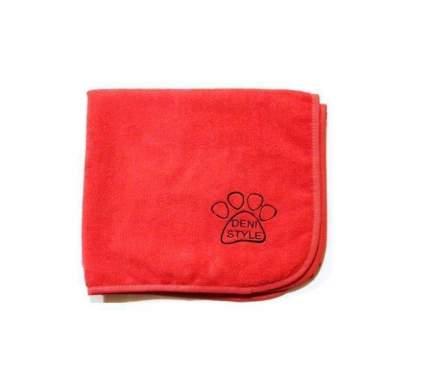 Полотенце для животных DENI STYLE ZooSpa, микрофибра, красно-розовое, 140x140 см