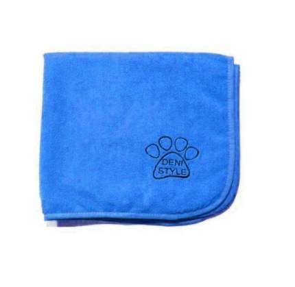 Полотенце для животных DENI STYLE ZooSpa, микрофибра, голубое, 140x140 см