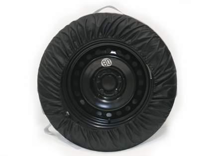 Набор чехлов для колес Auto Boss черный