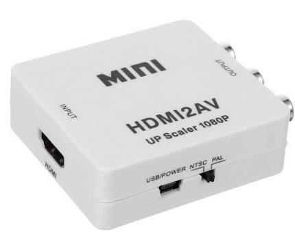 Конвертер HDMI на AV и аудио, HDMI 2 AV для монитора, CVBS, PAL NTSC