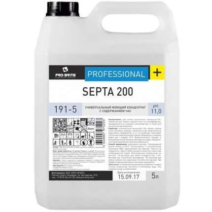 Средство дезинфицирующее Pro-brite. Septa 200, 5 литров, щелочное, низкопенное, концентрат