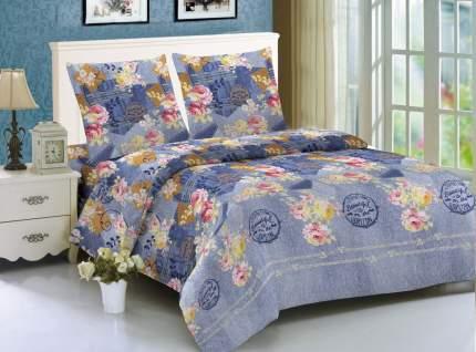 Комплект постельного белья Amore Mio из макосатина Jeans Евро
