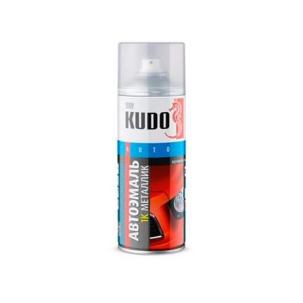 Краска KUDO KU42051 эмаль металлизиров. (Аэрозоль) 0,52л серебристая