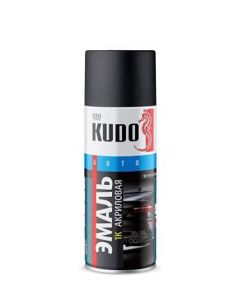 Краска-спрей KUDO KU52325 акриловая 1к черная матовая 520 мл