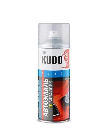 Автоэмаль KUDO KU-41640 металлизированная серебристая 640 520 мл