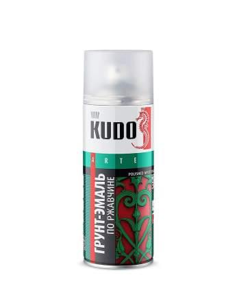 Kudo Грунт-Эмаль По Ржавчине Черная (Ral 9005) - 520 Мл. /6 Kudo KU-319005