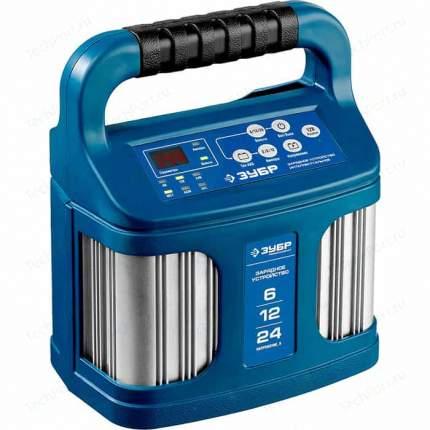 Зарядное устройство Зубр, 12 В, 12 А, автомат, IP65, AGM, GEL, WET