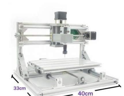 Лазерный и фрезерный гравировальный станок CNC3018, 2500 мВт / 10000 об/мин 1
