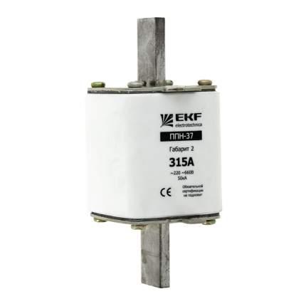 Плавкая вставка ППН-37 400/250А габарит 2 EKF PROxima