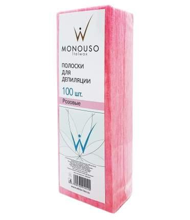 Полоска для депиляции 7х20 Italwax №100 штук розовая