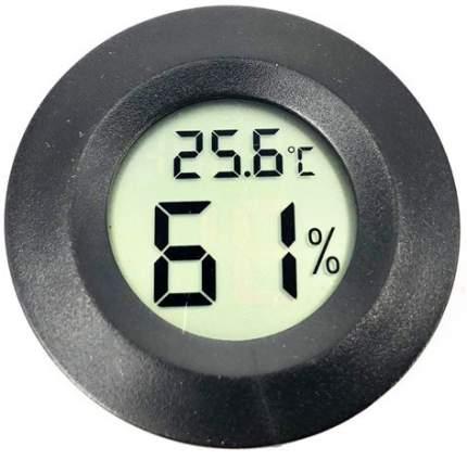 Встраиваемый термометр с измерением влажности ТЕХМЕТР Т-1816 (Черный)