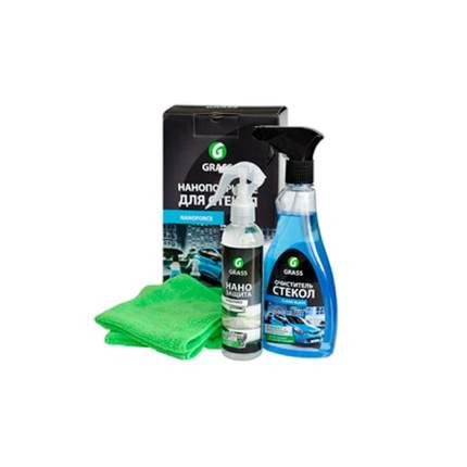 Очиститель Стекол Комплект Для Нано-Покрытия Стекол Автомобиля Nanoforce GraSS NF05