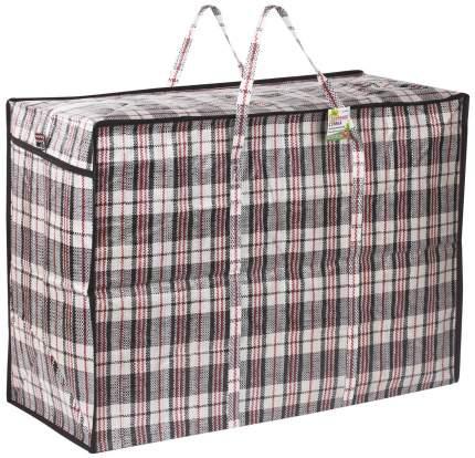 Хозяйственная сумка на молнии, р-р 60?50?30 см (Цвет: Чёрный )