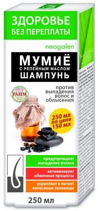 Шампунь, Здоровье без переплаты, мумие с репейным маслом 250мл