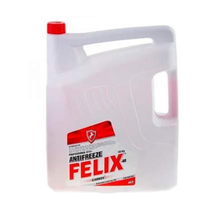 Антифриз Felix Carbox Готовый -40c Красный 10 Кг 430206020 Felix 430206020