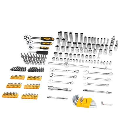Профессиональный набор инструментов для авто DEKO DKAT200 в чемодане (200 предметов)