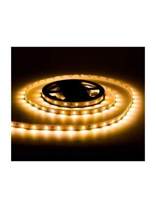 Комплект светодиодной ленты SMD 2835, 60 LED, 12 В, 4.8 Вт, 8-10 лм, теплый белый, 3 м URM
