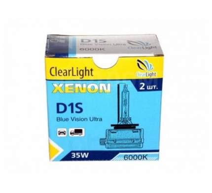 Лампа Ксеноновая D1s 6000k Clearlight 2 Шт. Lcl D1s 600-Bvu ClearLight LCL D1S 600-BVU