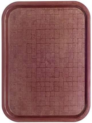 Поднос прямоугольный BORA  Пластик Коричневый ПЛ-BO226