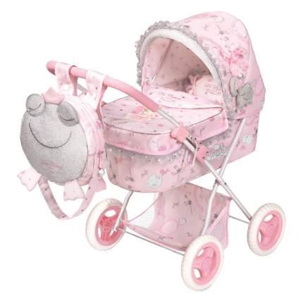 Коляска для куклы с рюкзаком серии Мария, 60см складная 85034