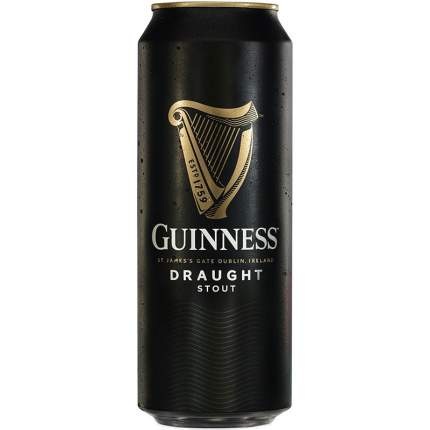 Пиво Гиннесс темное алк.4,2% ж/б 0,44 л