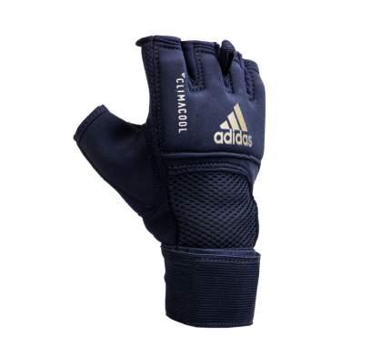 Adidas Накладки гелевые Speed Quick Gel Wrap Glove черно-золотые