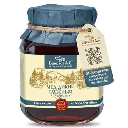 """Мёд натуральный """"Дикий таёжный"""" Берестов А.С., коллекция Избранное, 500 г"""
