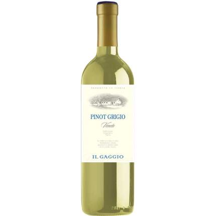 Вино ИльГаджоПиноГриджиоВенето бел 0,75