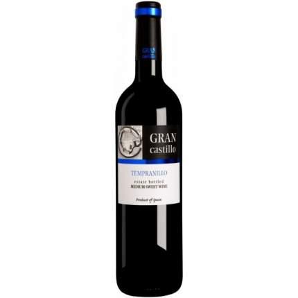 Вино ГранКастильо Темпранил п/сл кр 0,75