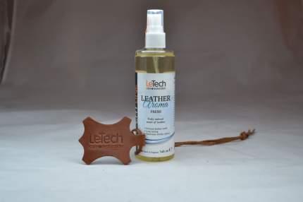Интерьерные духи-спрей в машину LeTech с запахом натуральной кожи (Leather Aroma Fresh)