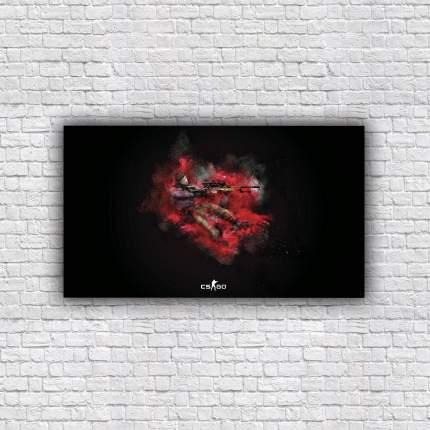 Картина интерьерная CS:GO/Counter-Strike 70х40 см