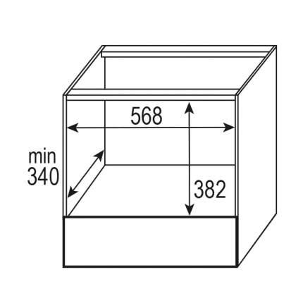 Встраиваемая микроволновая печь Zigmund-Shtain BMO 16.202 S