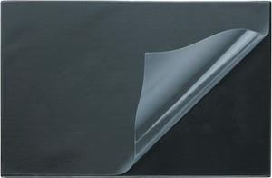 Коврик на стол Attache черный с прозрачным листом 38х59 см