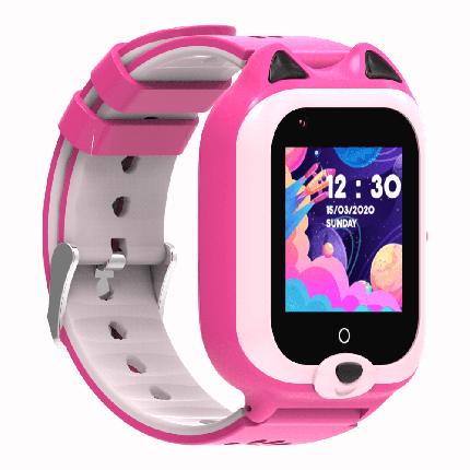 Часы Smart Baby Watch KT22 Wonlex розовые