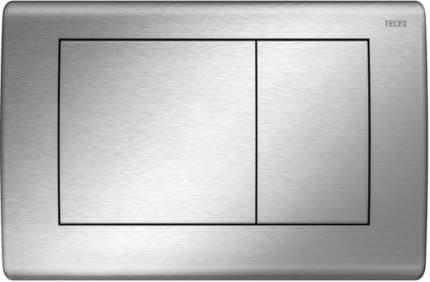 Панель смыва для унитаза TECEplanus, 2 клавиши, нержавеющая сталь, покрытие - сатин