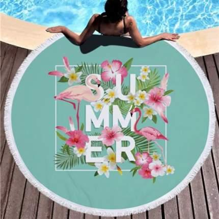 Коврик для пикника Baziator Beach Towel Summer голубой BG0007A 150х150 см