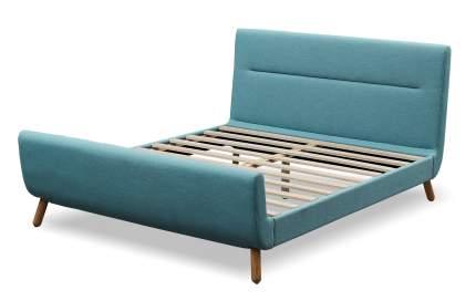Кровать Borneo 180х200, бирюзовый