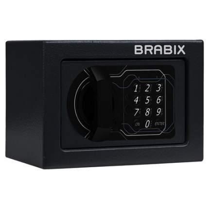 """Сейф офисный (мебельный) BRABIX """"SF-140EL"""", электронный замок, 291141"""
