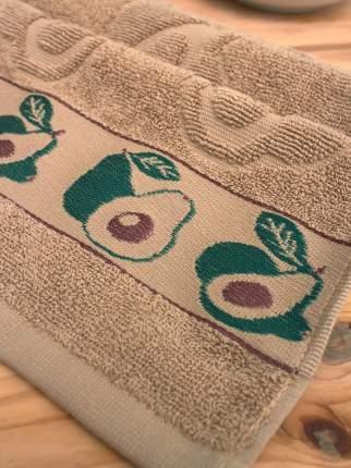 Махровое кухонное полотенце с вышивкой авокадо PARISA HOME (30х60)