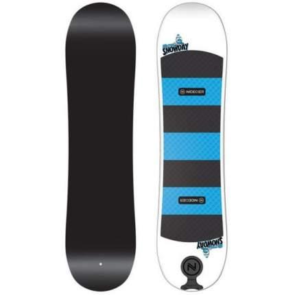 Сноуборд Nidecker Micron Snowday 2021, black/blue/white, 80 см