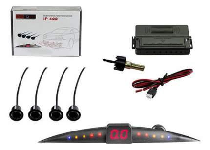 "Парковочный радар ""Silverstone F1 Interpower IP-422"", 4 датчика, цвет черный"