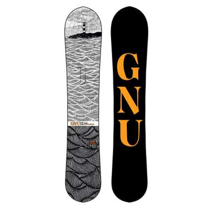 Сноуборд Gnu T2B 2021, multicolor, 161 см