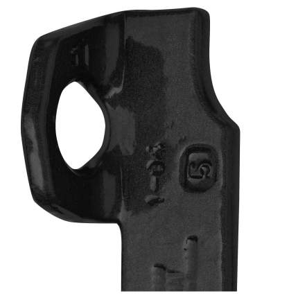 Крюк скальный Salewa Blade Piton 75 мм Black