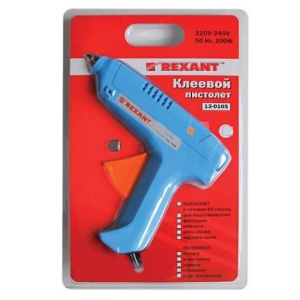 Клеевой пистолет REXANT, 100 Вт, для стержня 11 мм, в блистере, 12-0105